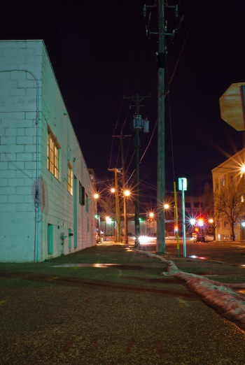 Facing University Ave. 2011