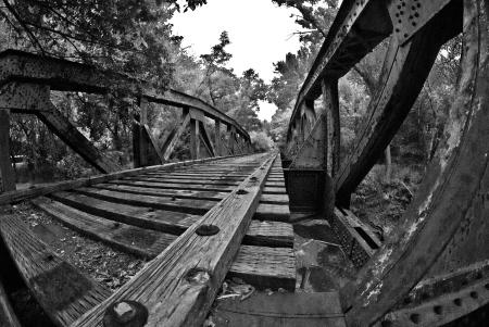 Katy Line Waxahachie Bridge 2013